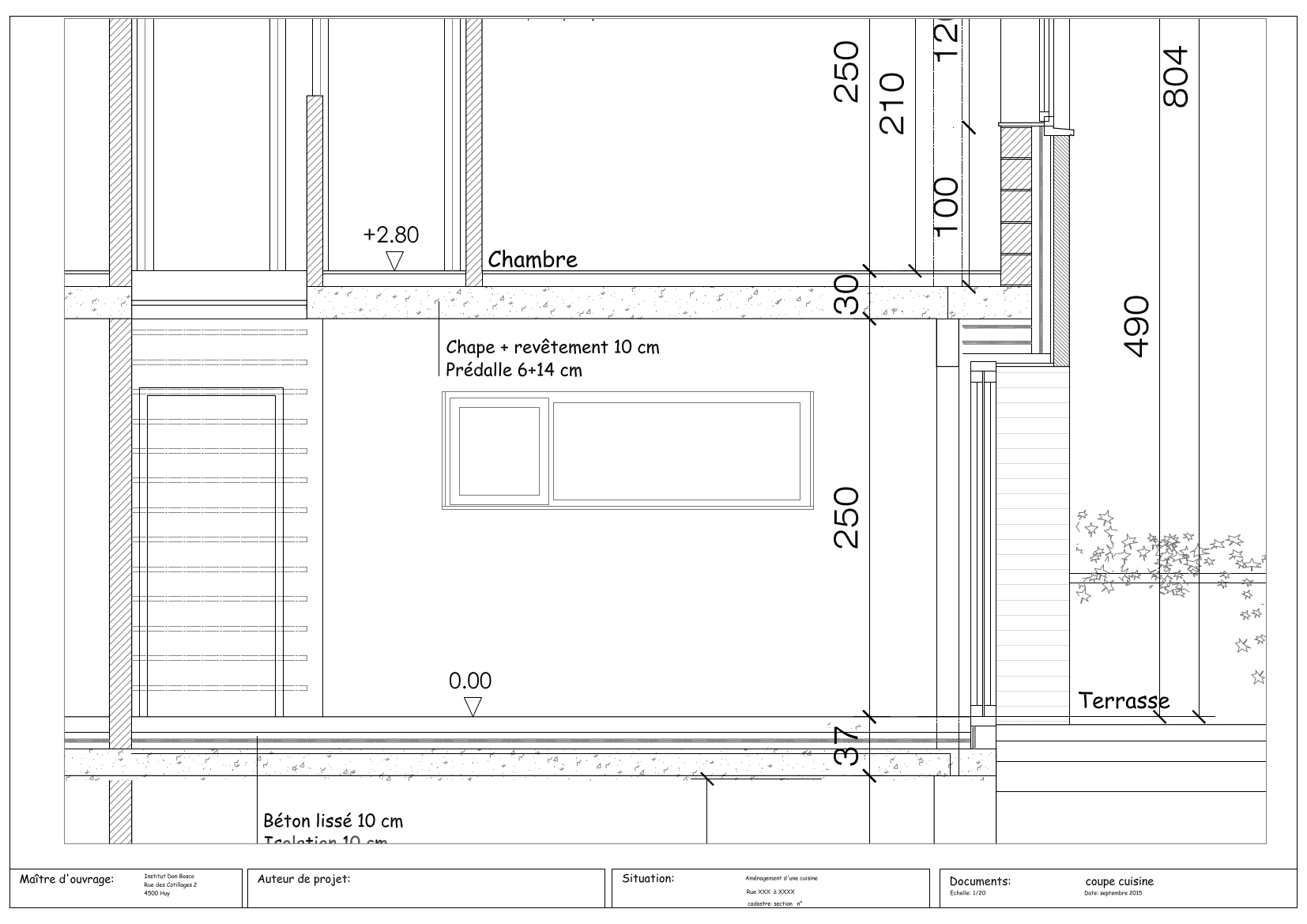 coupe cuisine 2 thibault florkin artisan menuisier. Black Bedroom Furniture Sets. Home Design Ideas