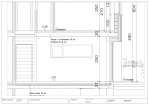 Plan d'architecte - Vue en coupe