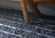 Fibre textile insuflée