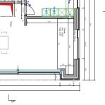 Plans d'architecte - Vue du dessus
