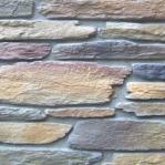 Un mur en pierre naturelle