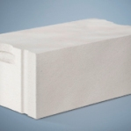 Un bloc de béton cellulaire