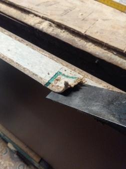Un ciseau à bois