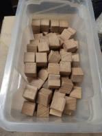 Les cubes avec les arrêtes chanfreinées